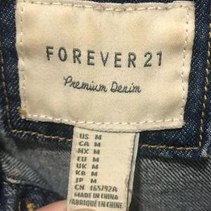 Forever 21 Jackets & Coats - Forever 21 Cropped Jean Jacket